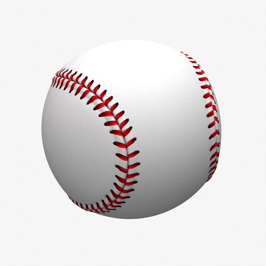Baseball royalty-free 3d model - Preview no. 6