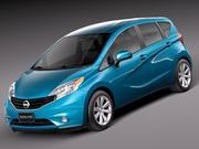 Nissan Versa Note 2014 usa 3d model