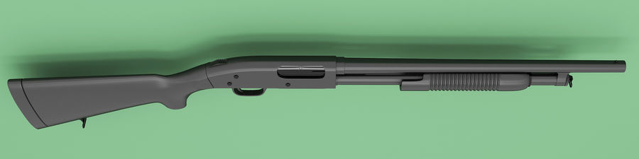 散弾銃 royalty-free 3d model - Preview no. 3