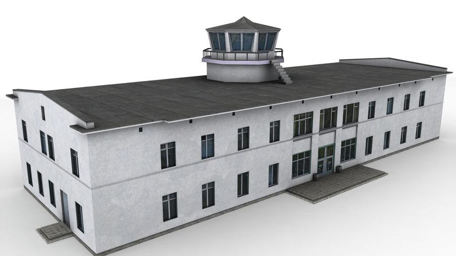 Aeropuerto Kostroma royalty-free modelo 3d - Preview no. 2