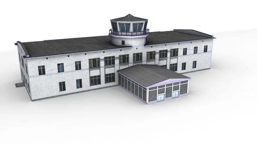 Aeropuerto Kostroma royalty-free modelo 3d - Preview no. 5