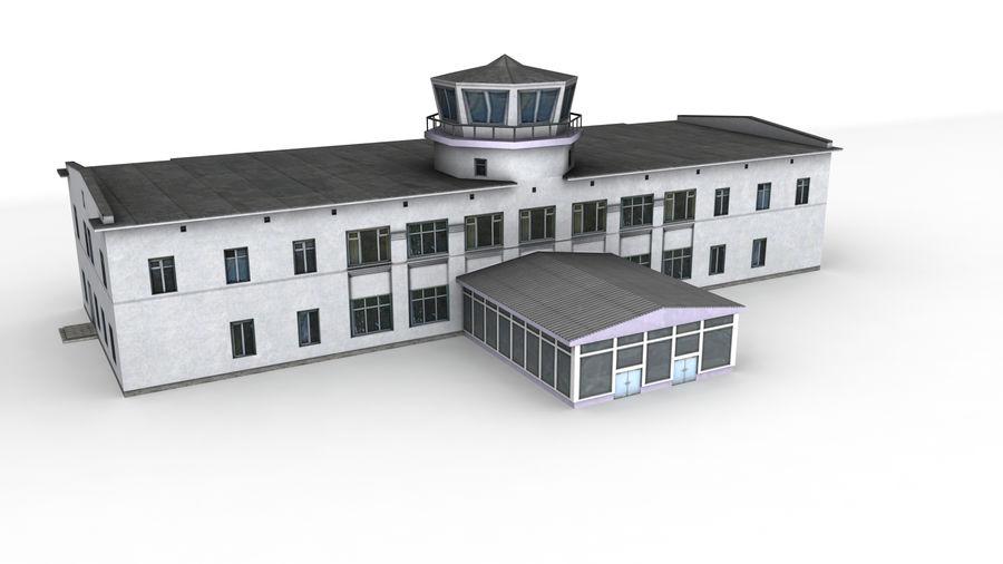 Aeropuerto Kostroma royalty-free modelo 3d - Preview no. 4