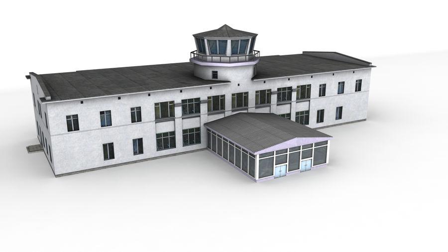 Aeropuerto Kostroma royalty-free modelo 3d - Preview no. 1