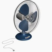 Pedestal Fan with Working Motor 3d model