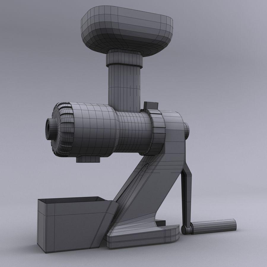 Ручная ручная соковыжималка royalty-free 3d model - Preview no. 11