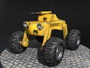 Pojazd bezzałogowy 3d model