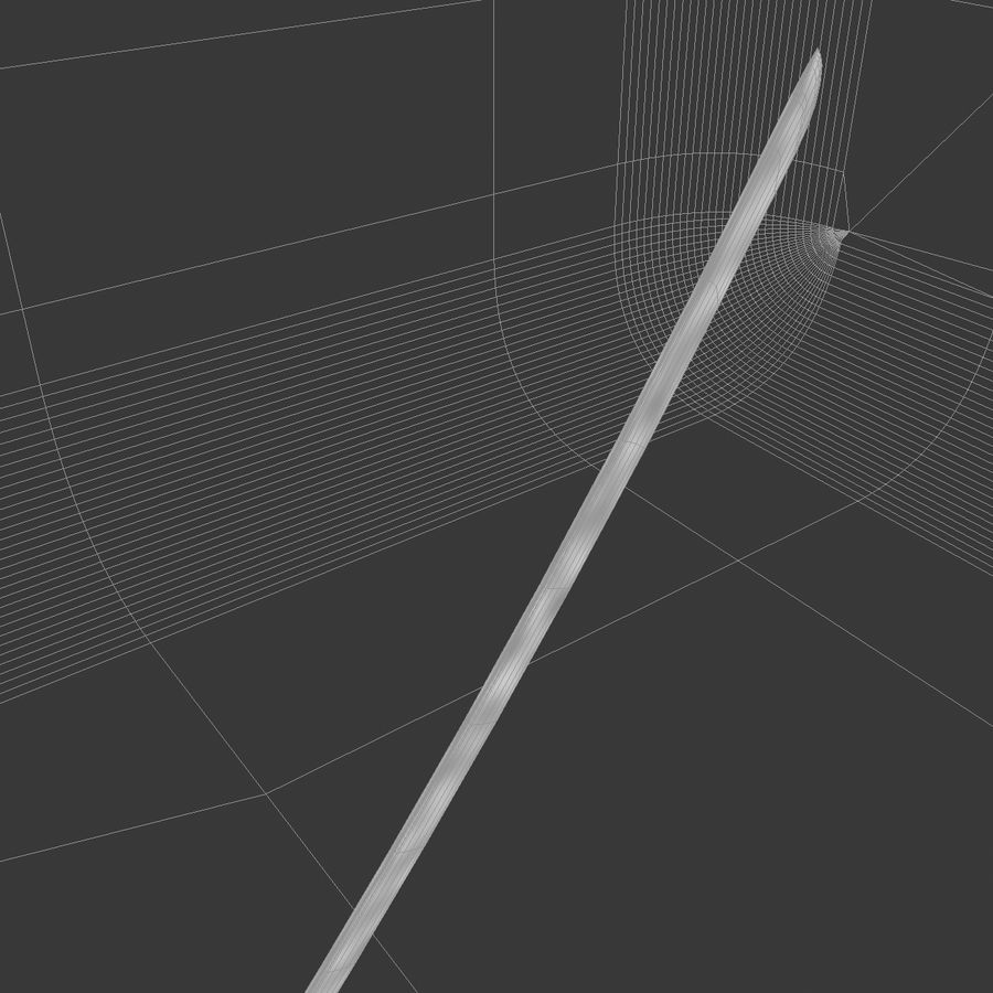 Sword royalty-free 3d model - Preview no. 34