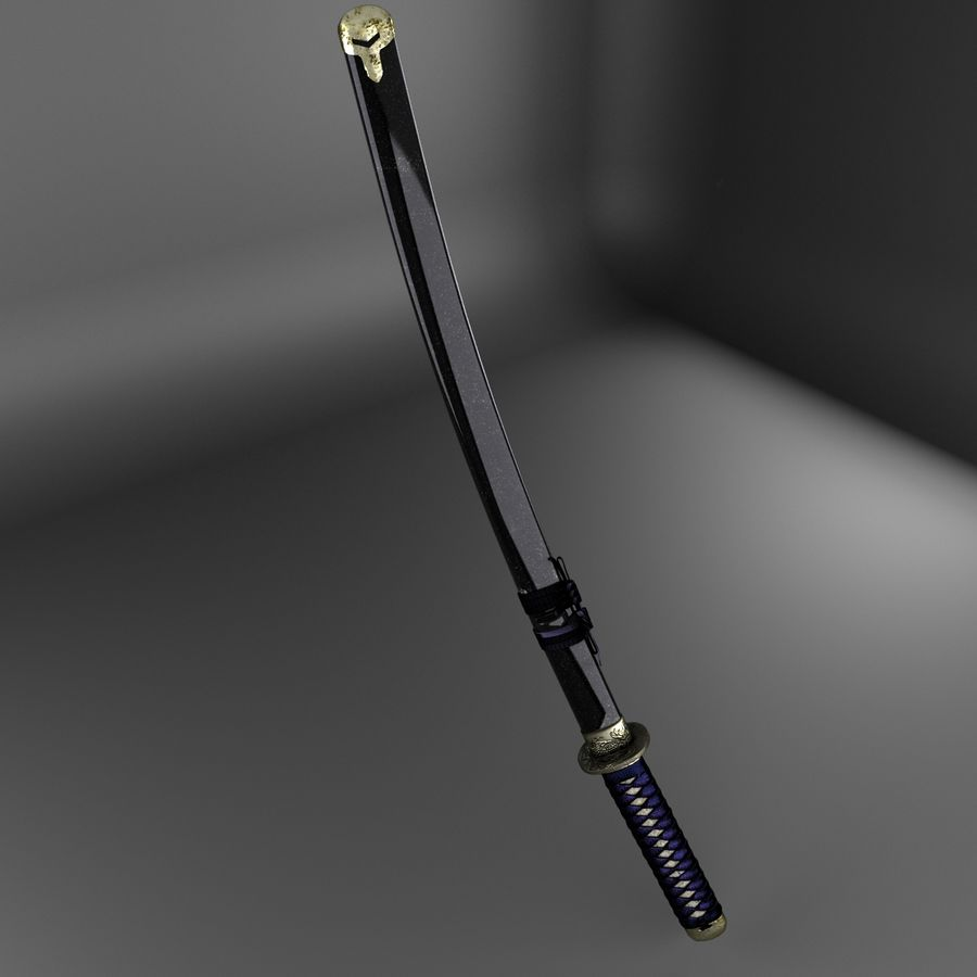 Sword royalty-free 3d model - Preview no. 5