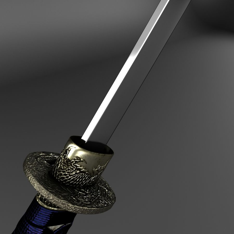 Sword royalty-free 3d model - Preview no. 15