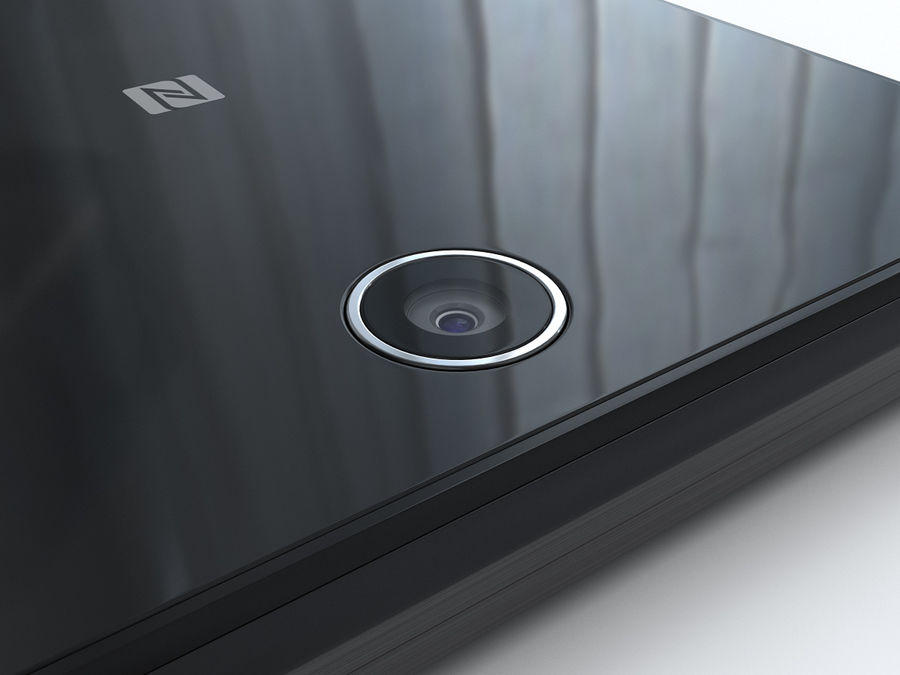 Sony Xperia Z Ultra royalty-free 3d model - Preview no. 23