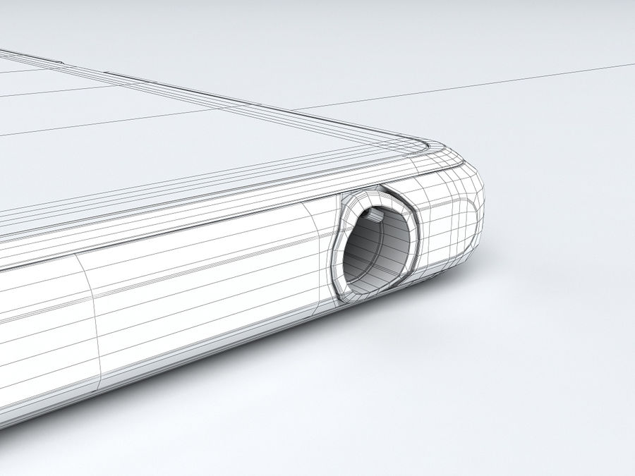 Sony Xperia Z Ultra royalty-free 3d model - Preview no. 33