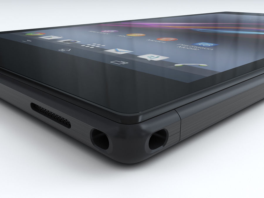 Sony Xperia Z Ultra royalty-free 3d model - Preview no. 14