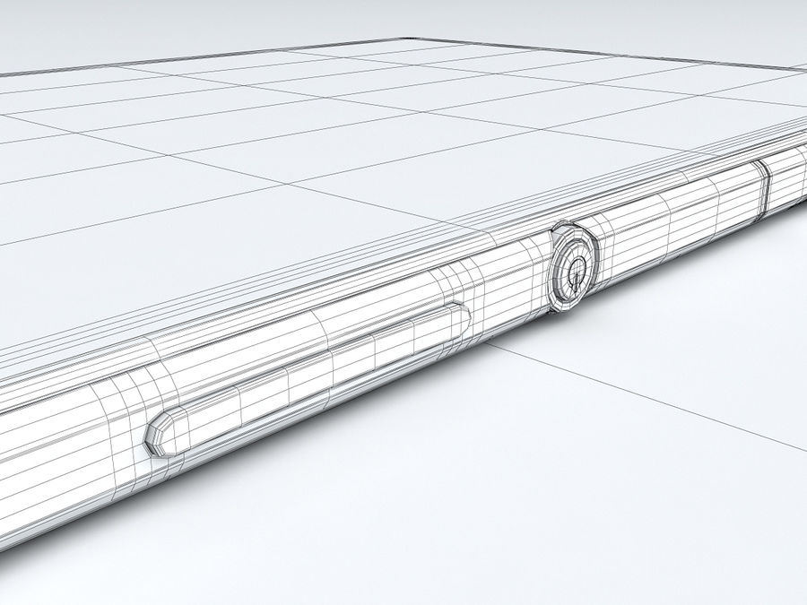 Sony Xperia Z Ultra royalty-free 3d model - Preview no. 32