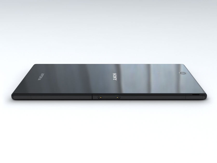 Sony Xperia Z Ultra royalty-free 3d model - Preview no. 11