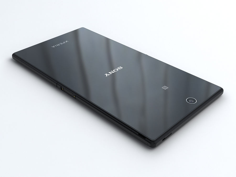 Sony Xperia Z Ultra royalty-free 3d model - Preview no. 4