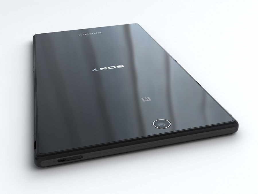 Sony Xperia Z Ultra royalty-free 3d model - Preview no. 8