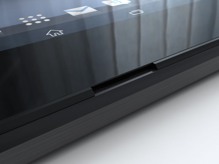 Sony Xperia Z Ultra royalty-free 3d model - Preview no. 21