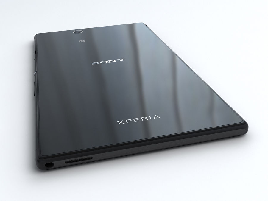 Sony Xperia Z Ultra royalty-free 3d model - Preview no. 9