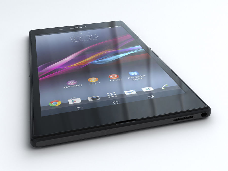 Sony Xperia Z Ultra royalty-free 3d model - Preview no. 6