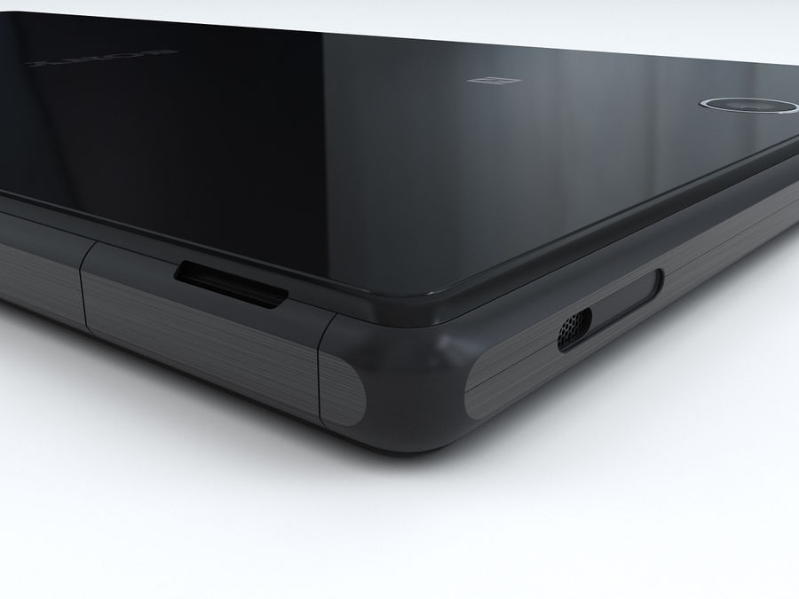 Sony Xperia Z Ultra royalty-free 3d model - Preview no. 19