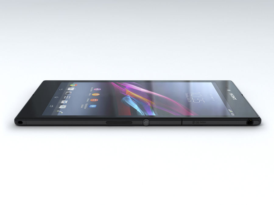 Sony Xperia Z Ultra royalty-free 3d model - Preview no. 10