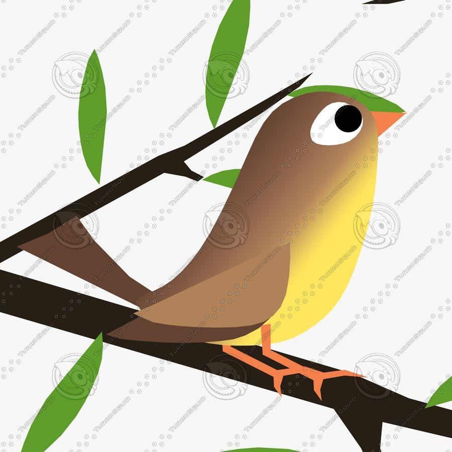 Animowane ptaki royalty-free 3d model - Preview no. 5
