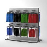 Shorts eingestellt 3d model