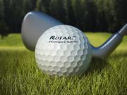 Scena golfowa (realistyczna trawa) 3d model