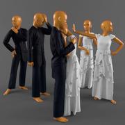 Barnkläder 3d model