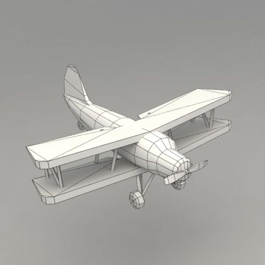 飞机 royalty-free 3d model - Preview no. 7