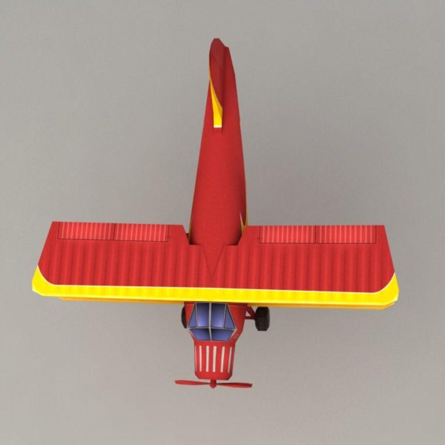 飞机 royalty-free 3d model - Preview no. 6