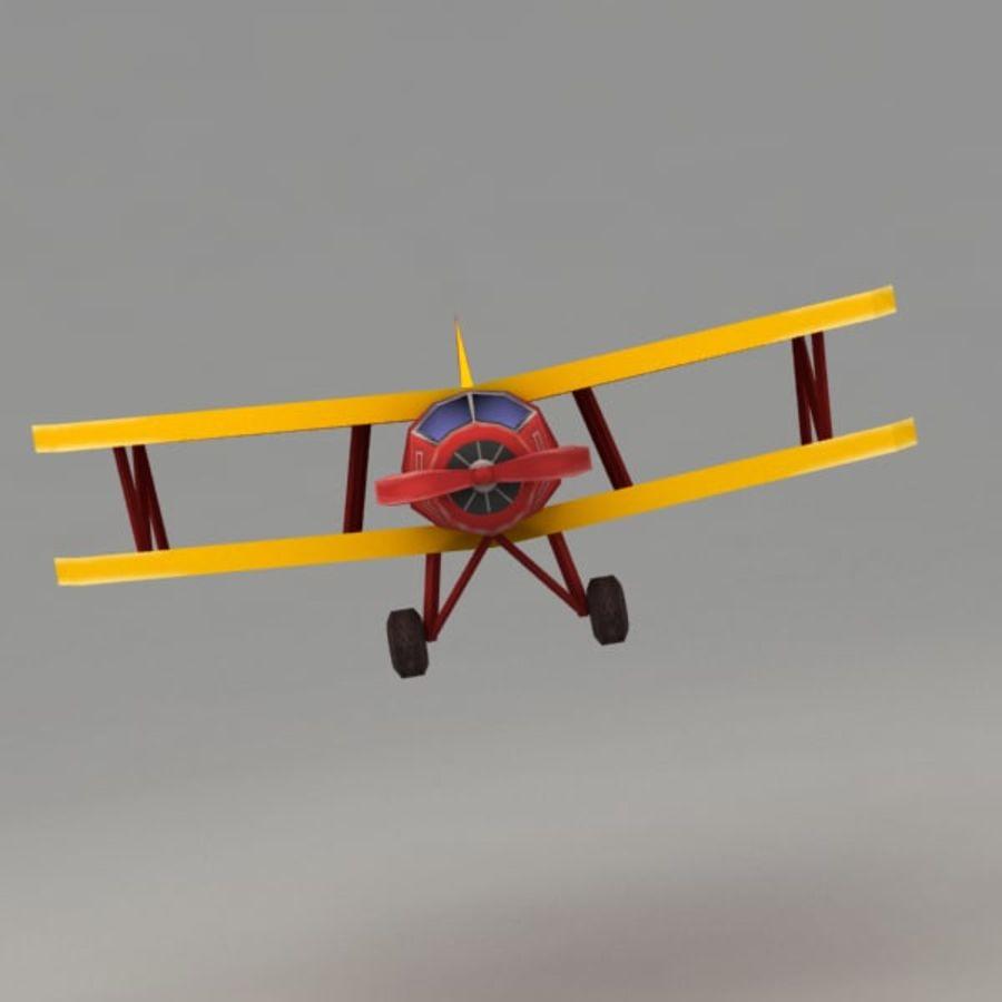 Samolot royalty-free 3d model - Preview no. 5