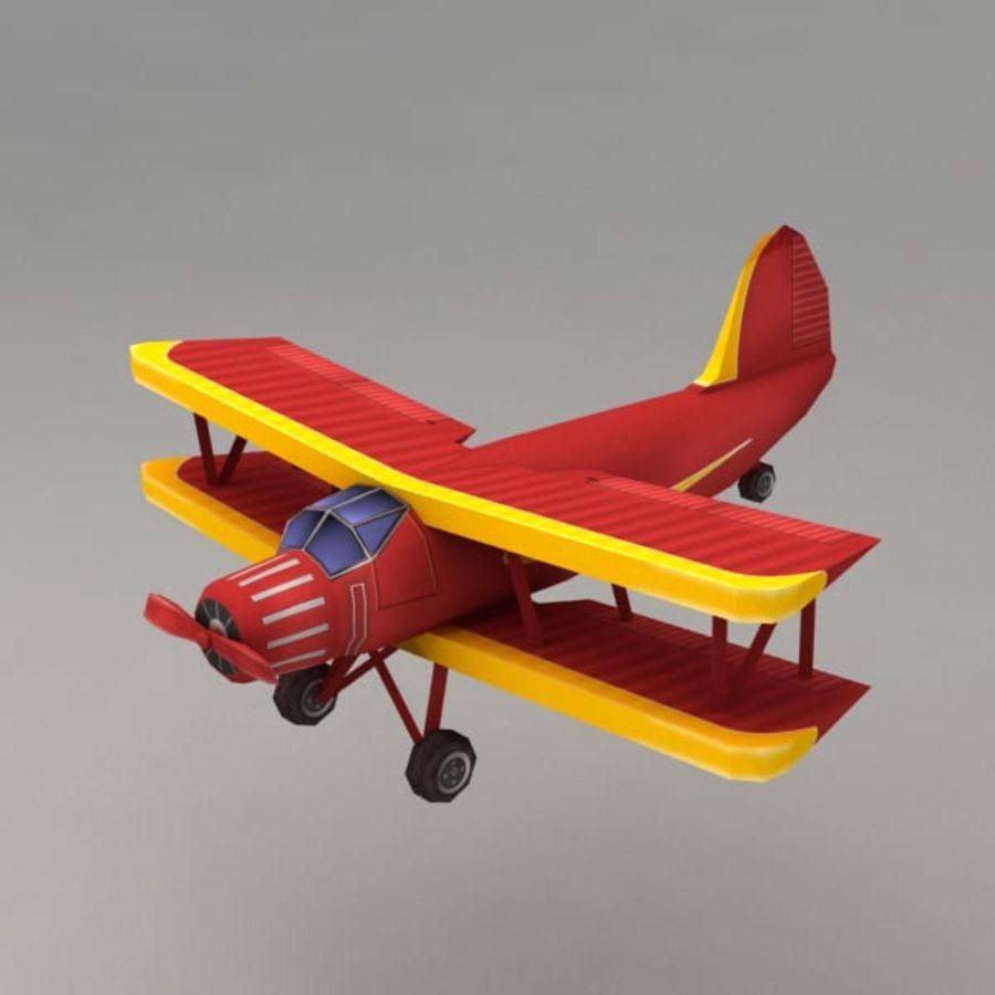 飞机 royalty-free 3d model - Preview no. 1