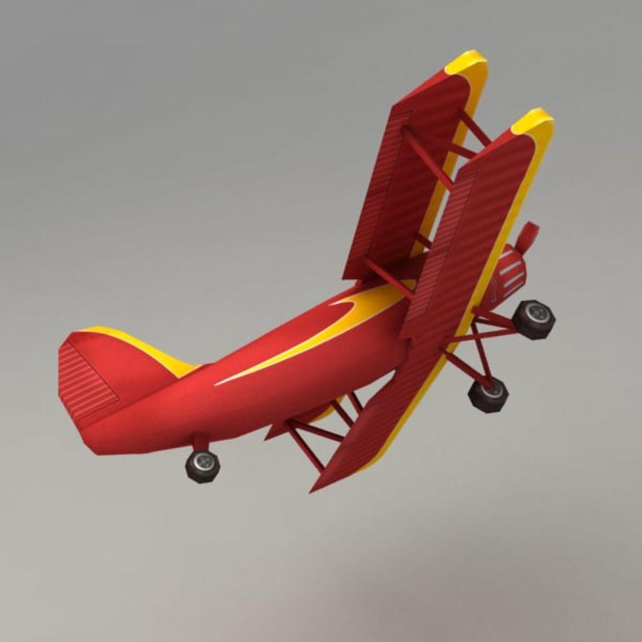 飞机 royalty-free 3d model - Preview no. 3