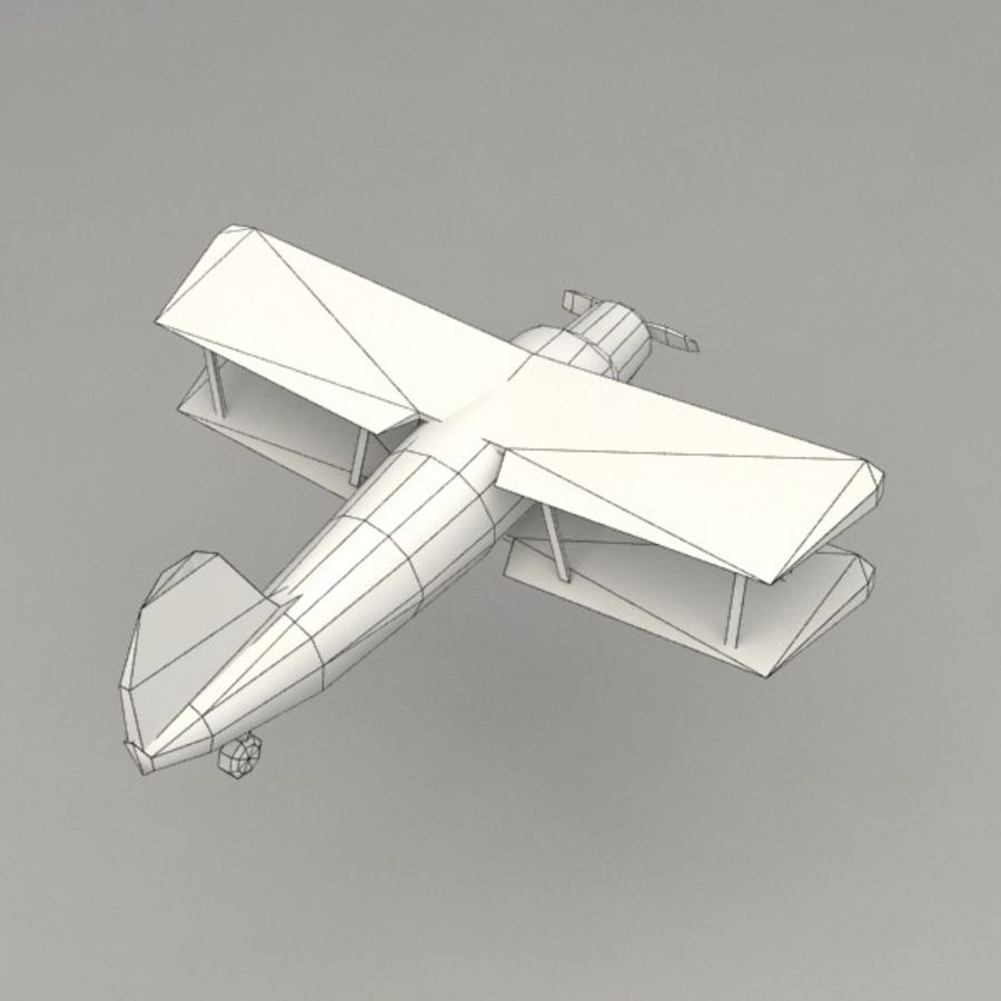 Airplane royalty-free 3d model - Preview no. 8