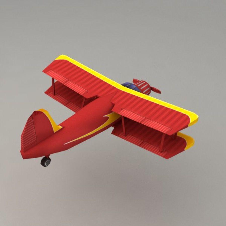 飞机 royalty-free 3d model - Preview no. 2