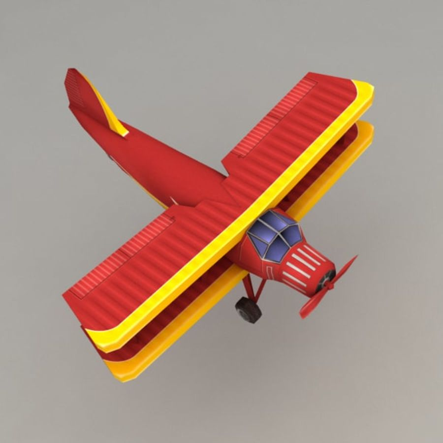 飞机 royalty-free 3d model - Preview no. 4