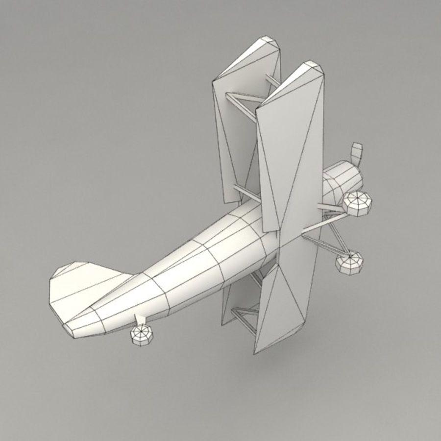 飞机 royalty-free 3d model - Preview no. 9