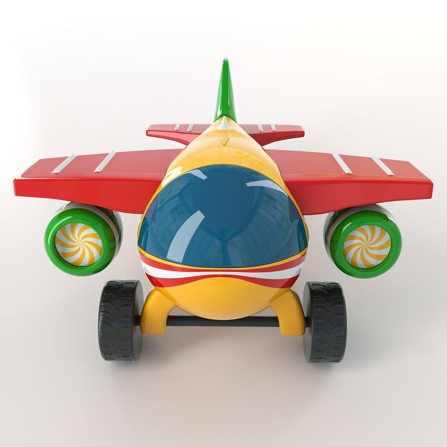 Avião de brinquedo royalty-free 3d model - Preview no. 7