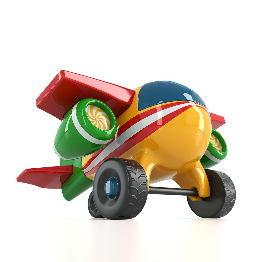Avião de brinquedo royalty-free 3d model - Preview no. 6