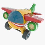 Avião de brinquedo 3d model