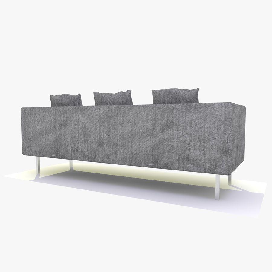 Sofa-Stuhl royalty-free 3d model - Preview no. 7
