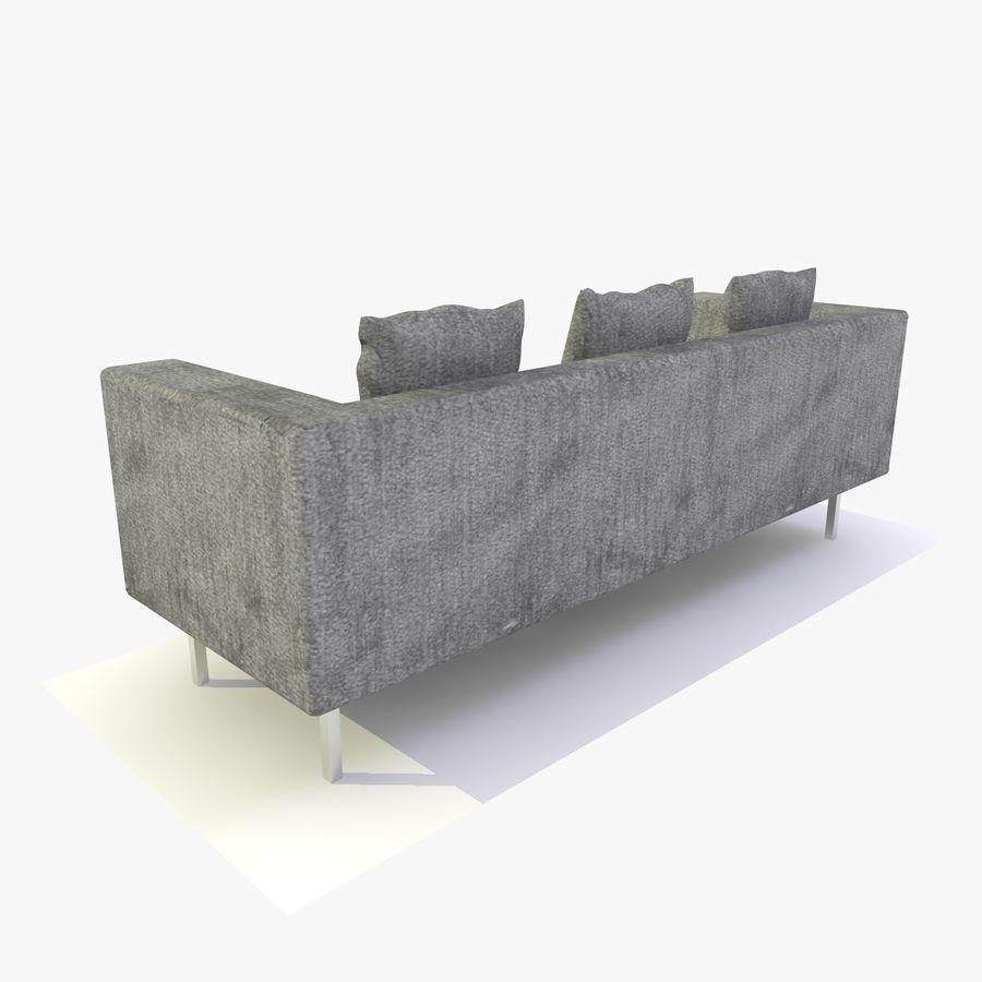 Sofa-Stuhl royalty-free 3d model - Preview no. 4