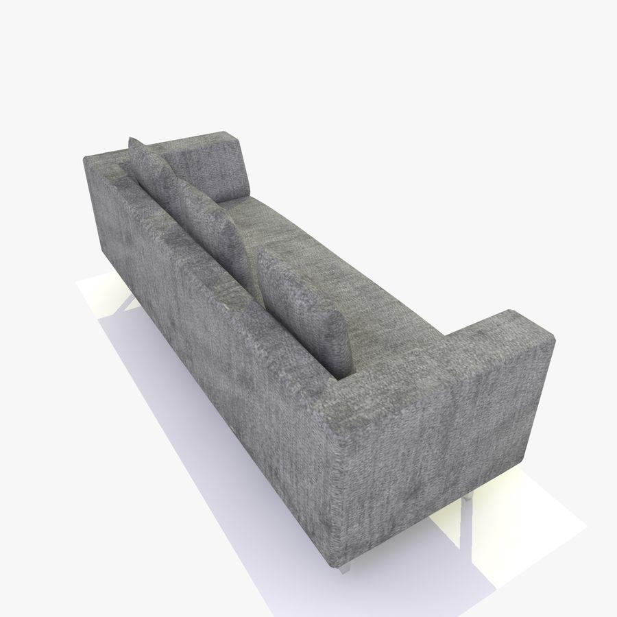 Sofa-Stuhl royalty-free 3d model - Preview no. 8