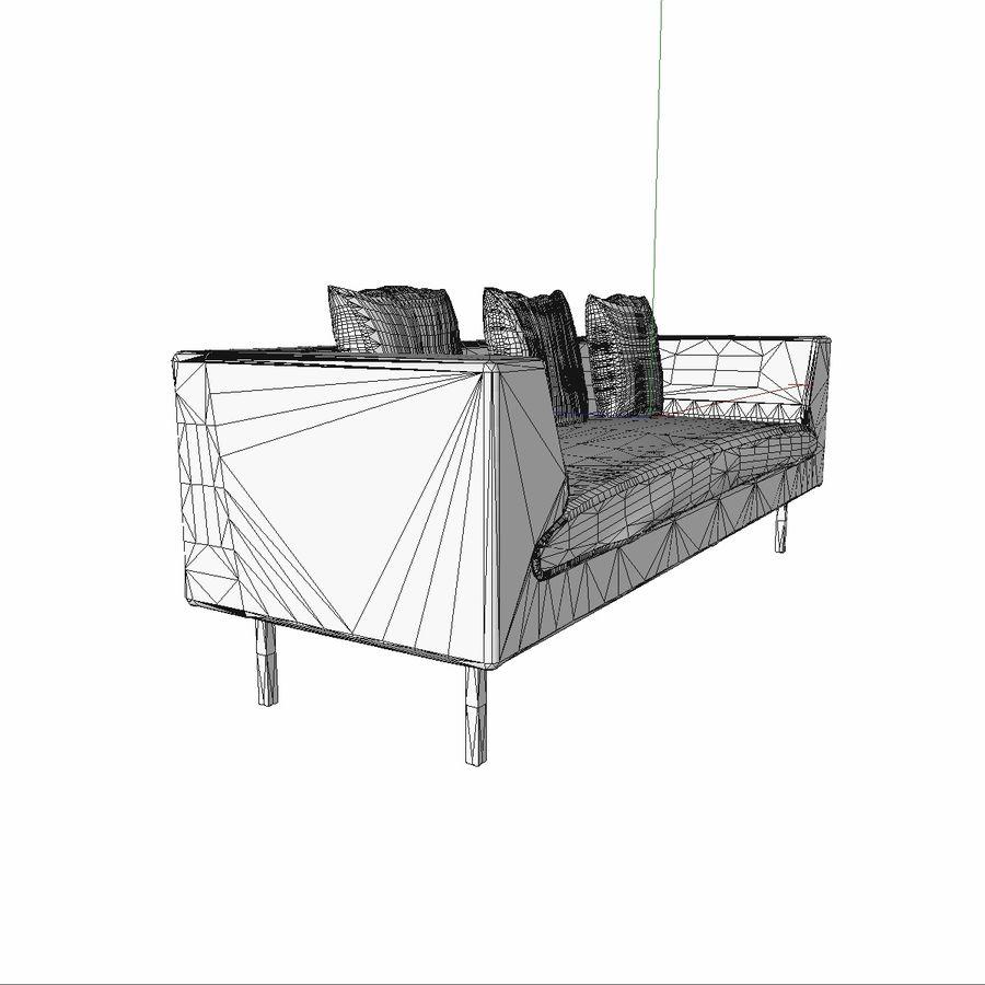 Sofa-Stuhl royalty-free 3d model - Preview no. 14
