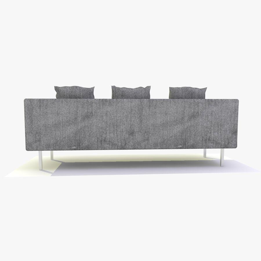 Sofa-Stuhl royalty-free 3d model - Preview no. 9
