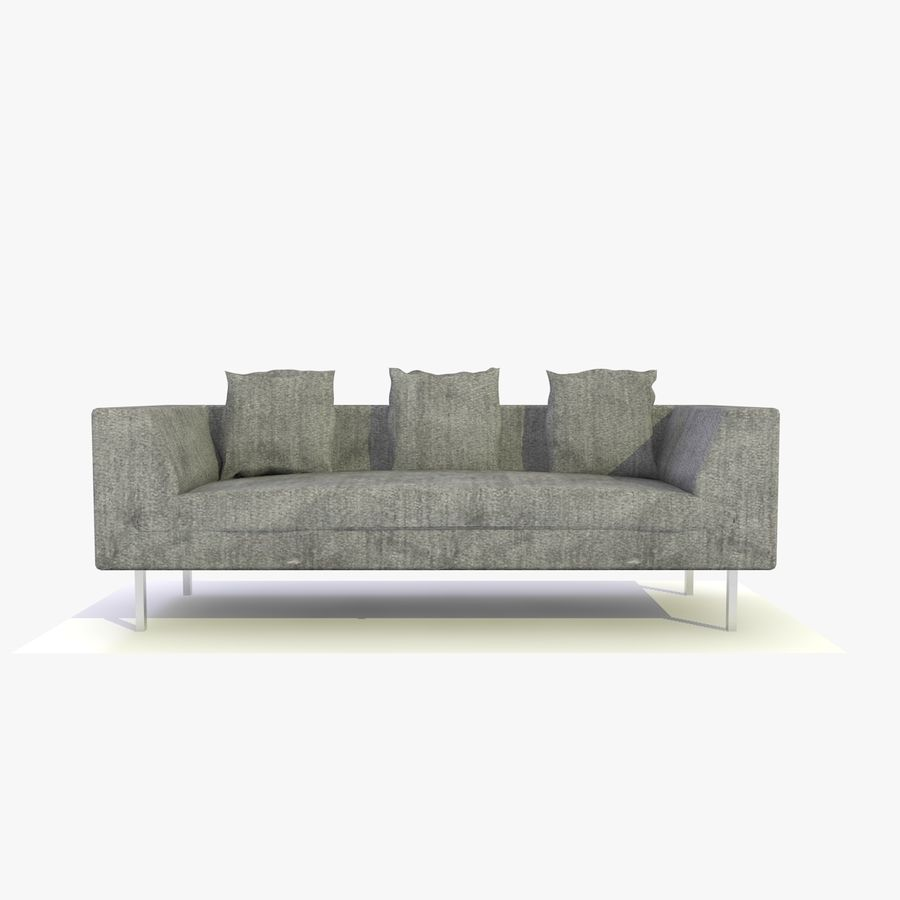 Sofa-Stuhl royalty-free 3d model - Preview no. 1