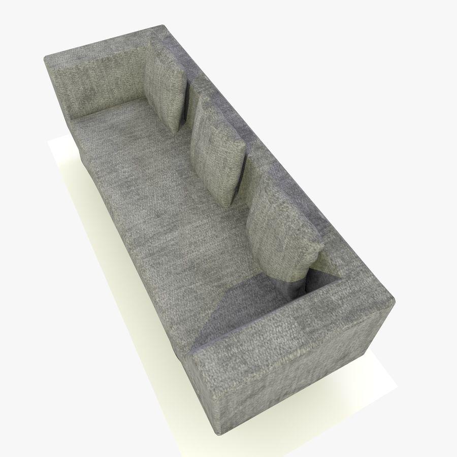 Sofa-Stuhl royalty-free 3d model - Preview no. 11