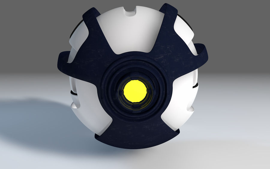 Robot Drone royalty-free 3d model - Preview no. 5