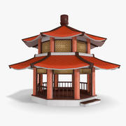 Chinese pagode 3d model